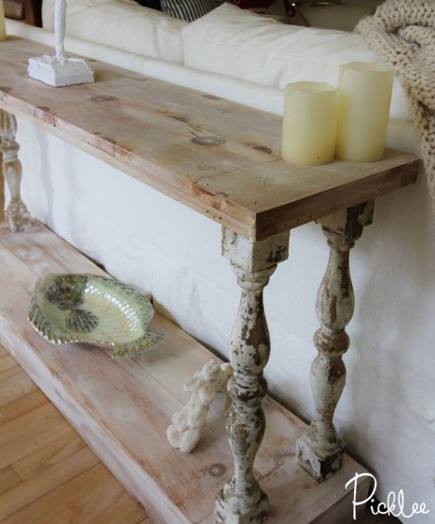 Do It Yourself Sofa Table
