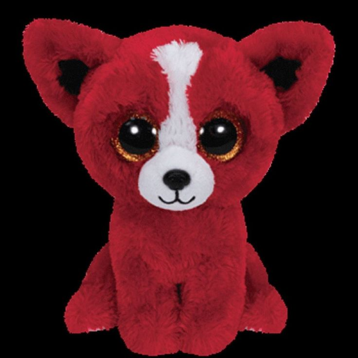 Ty Tomato The Red Dog Puppy Beanie Boos Stuffed Plush