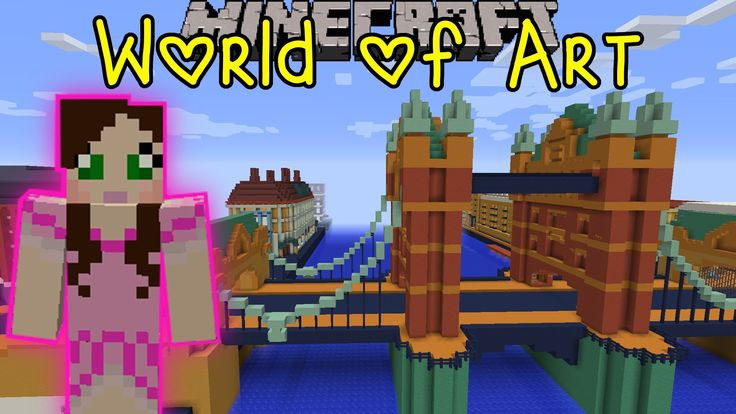 Pat And Jen Minecraft World Of Art Custom Map Part 3 GamingWithJen Pinterest World World