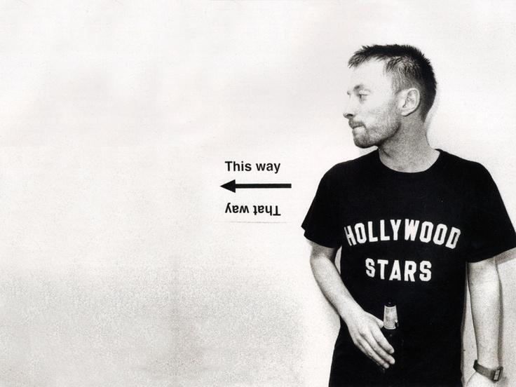 c0d101067d816b8f679853b1d76cb345 Celebrity T Shirts: Thom Yorke (Radiohead)