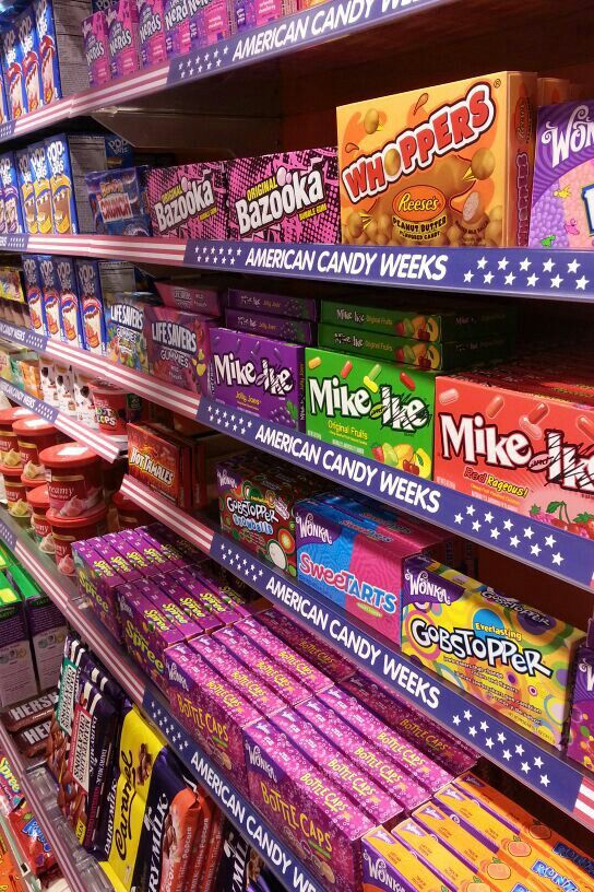 American candy weeks by Jamin Venray. www.jaminvenray.nl ...
