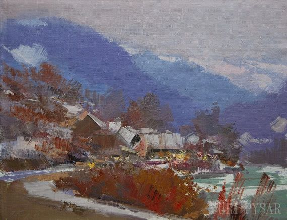 201 Best Images About Landscape Paintings, Abstract