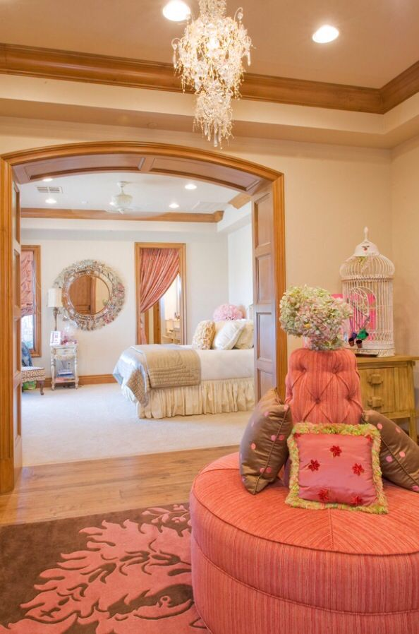 106 best images about Girl's Den Ideas on Pinterest   Pink ... on Beautiful Room For Teenage Girl  id=17128
