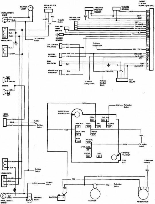 1983 chevy k20 wiring diagram  wiring diagram solidwindow