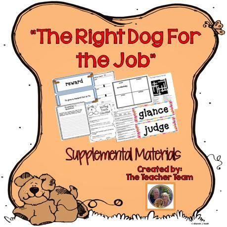 The Right Dog For the Job Journeys 4th Grade Supplemental ...