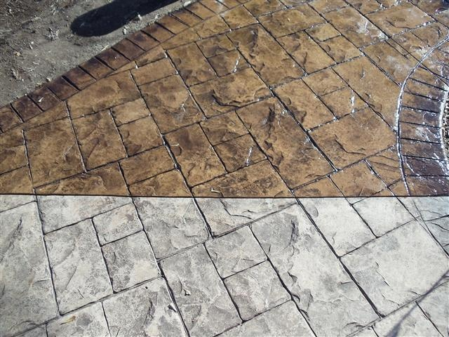 8 Best Images About Before Amp After Concrete Staining On Pinterest Carpets Cleanses And Stains