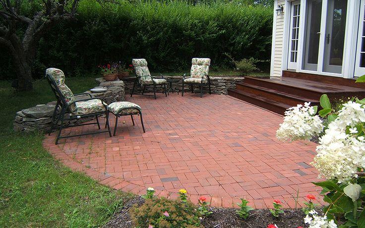Backyard Brick Patio Design Ideas   Home Office Ideas on Brick Ideas For Backyard id=72192