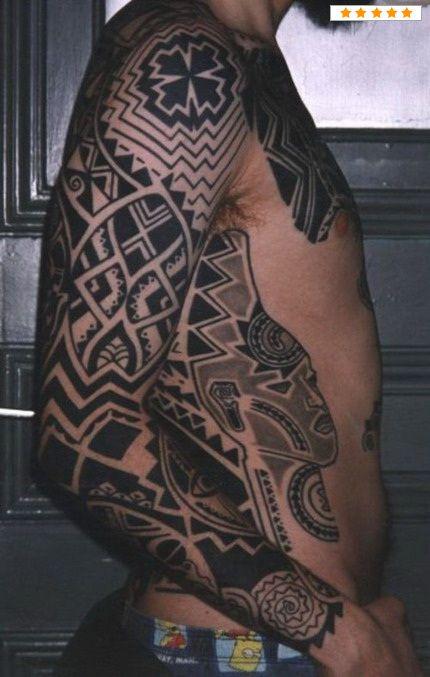 25 Best Ideas About Men Tribal Tattoos On Pinterest Tribal Tattoo Pictures Tribal Tattoos