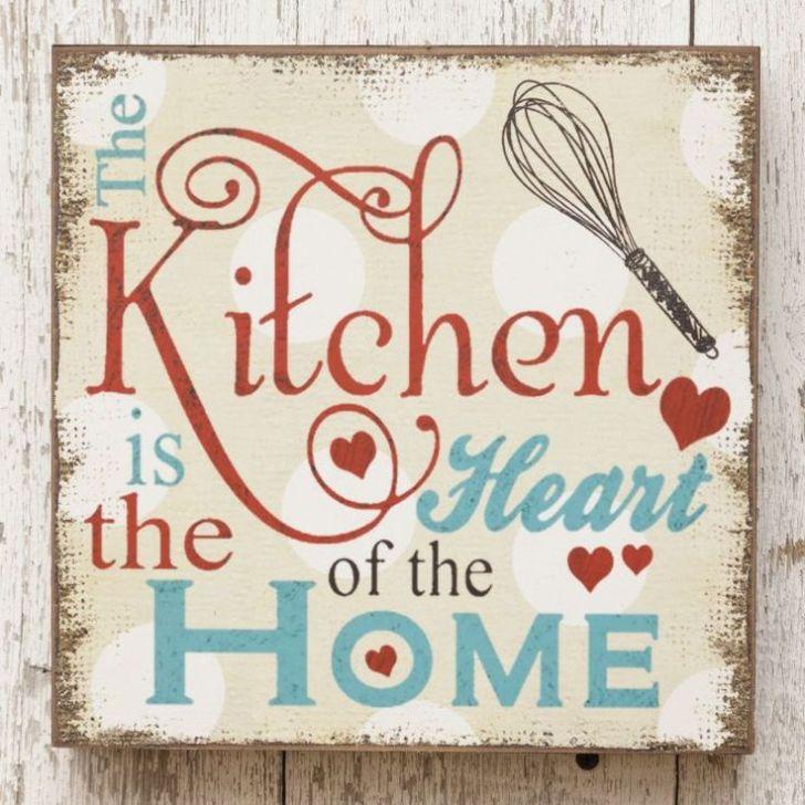 Vintage Kitchen Signs Wood