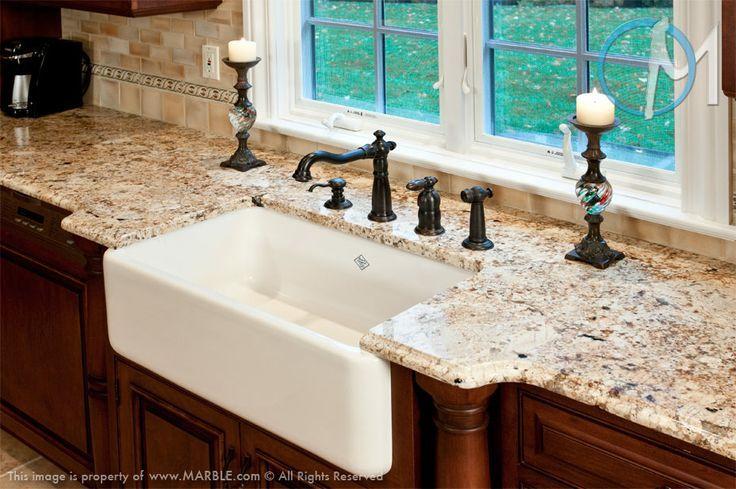 solaris granite kitchen pictures   Solarius Granite (and I ... on Farmhouse Kitchen Farmhouse Granite Countertops  id=98733