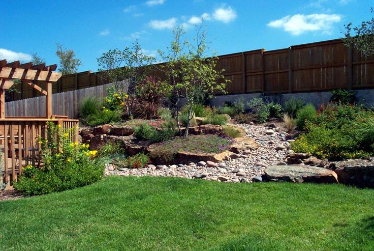 Landscaping Ideas For A Small Sloped Backyard | Mystical ... on Backyard With Slope Ideas  id=57251