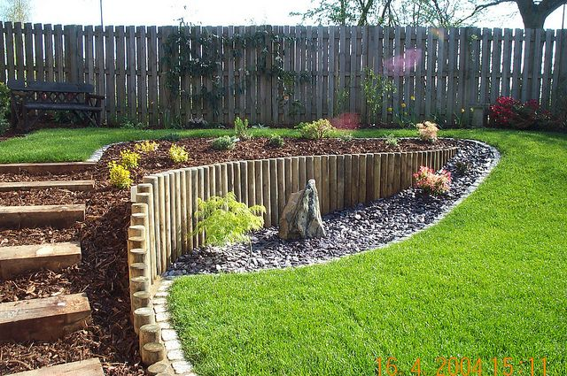 The 25+ best Sloping garden ideas on Pinterest   Sloped ... on Patio Ideas For Sloping Gardens id=35410