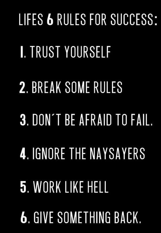 Arnold Schwarzeneggers 6 Rules for Life and then some… – much better when imagined in Arnolds voice