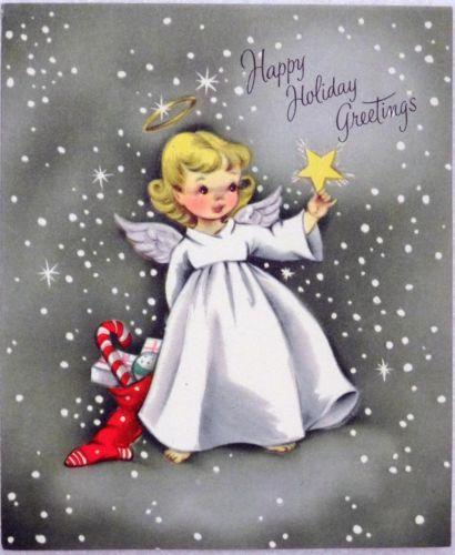 236 Best Vintage Christmas Angels Images On Pinterest