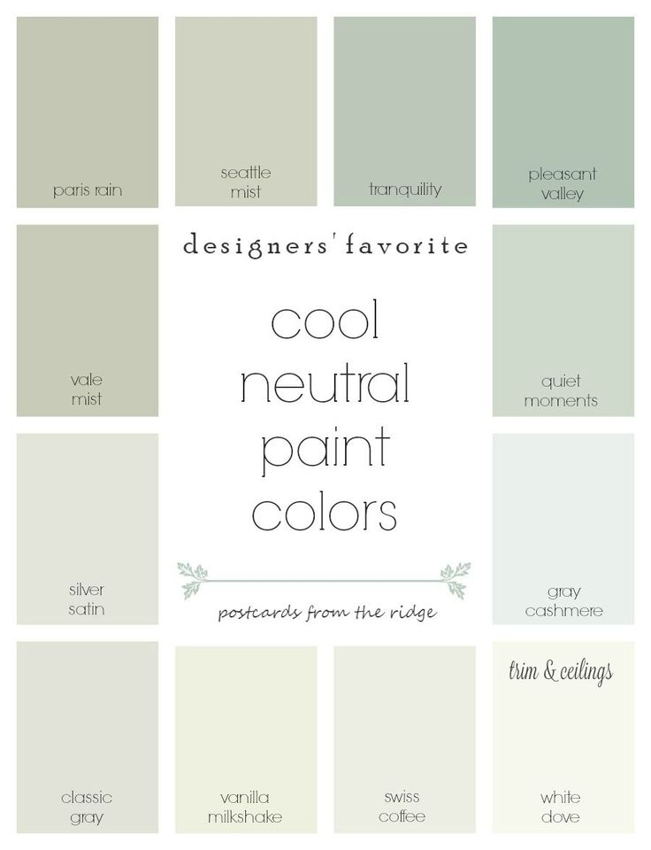designers favorite cool neutral paint colors paint on interior designer recommended paint colors id=58402