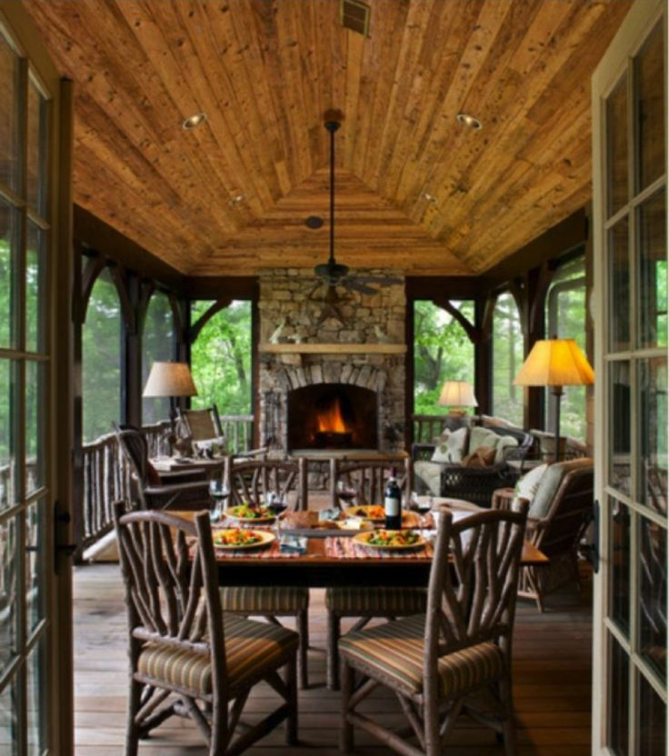 rustic sunroom decor google search ideas for the house on awesome deck patio outdoor lighting ideas that lighten up your space id=24793