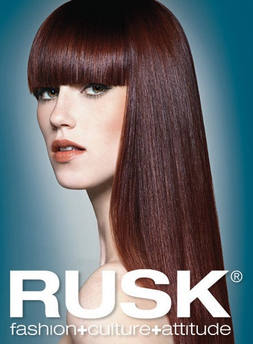 We Use Rusk Hair Color And Sell Their Professional Hair