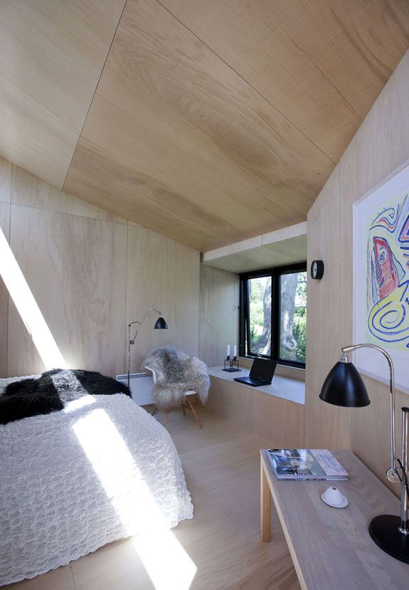 Plywood Walls Floors Ceilings Simple Beauty Cabin Glamping Pinterest Martin O