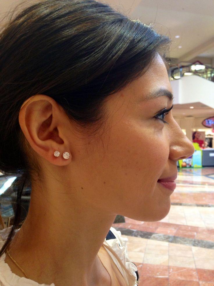 25 Best Ideas About Double Ear Piercings On Pinterest