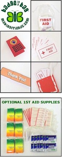 17 Best Images About Brownie First Aid Badge