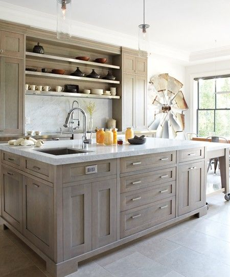light grey stained wood or dark grey cabinets like these hall bath remodel pinterest on kitchen interior grey wood id=50825