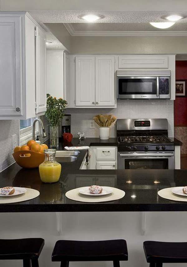19 beautiful showcases of u shaped kitchen designs for small homes homesthetics decor 17 on kitchen ideas u shaped id=68132