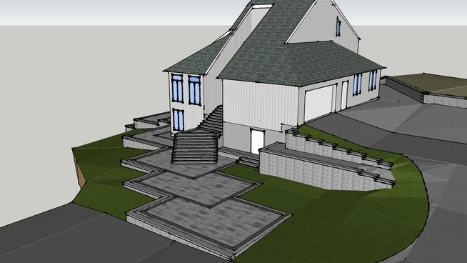 17 Best images about My SketchUp Designs on Pinterest ... on Sketchup Backyard id=77147