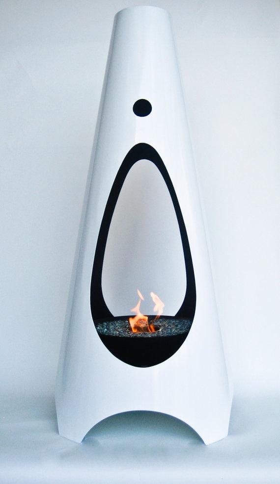 1000 Ideas About Modern Outdoor Fireplace On Pinterest