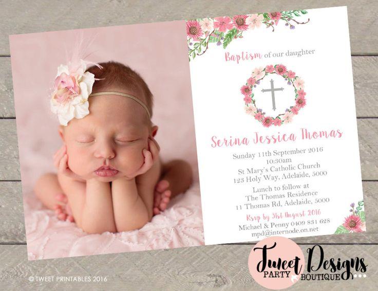 Invitations Baby Baptism