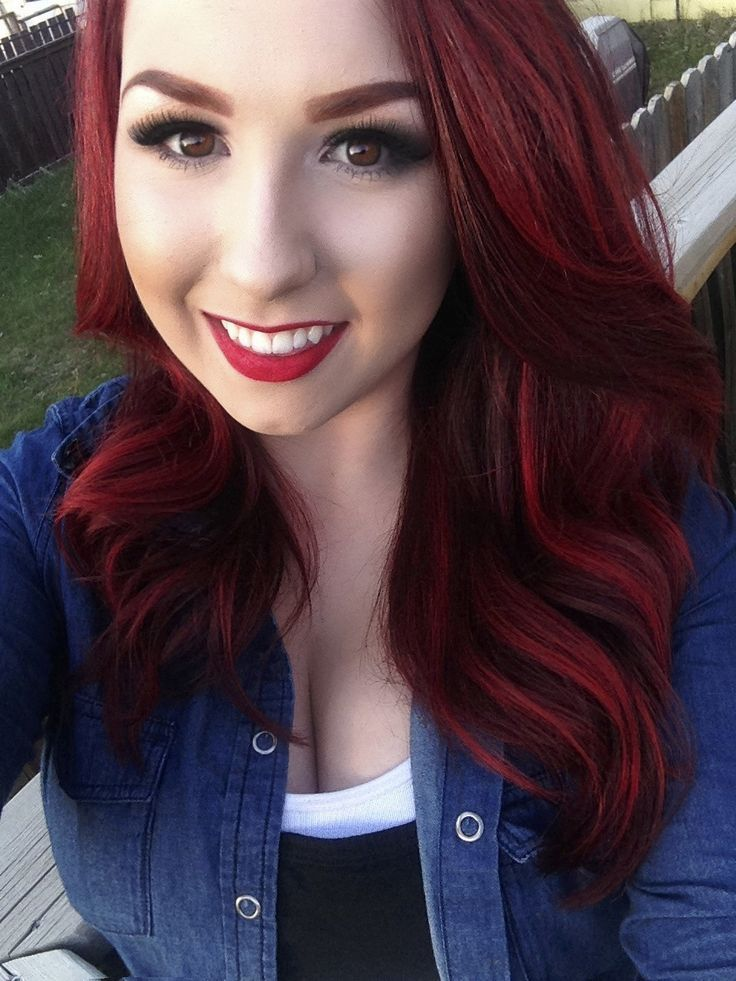 Joico Intensity Semi Permanent Hair Color Ruby Red 4