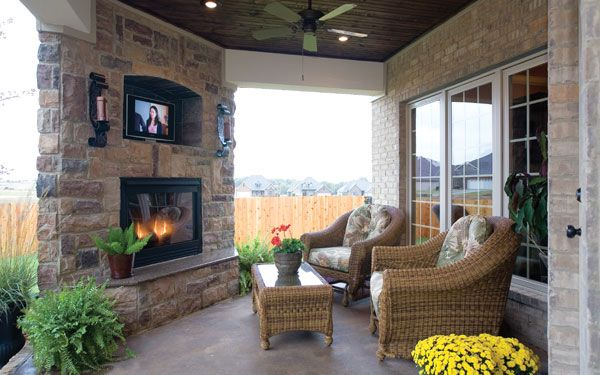covered outdoor living patio Outdoor Living Trends | Flats, Outdoor living and Covered