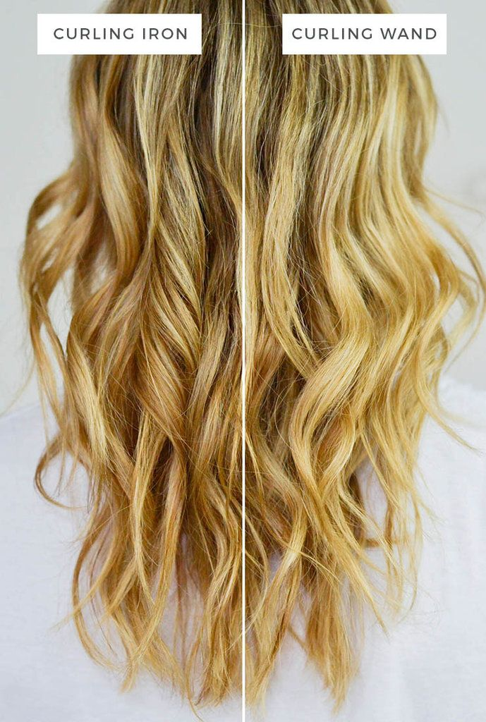 The Real Difference Between A Curling Wand And A Curling