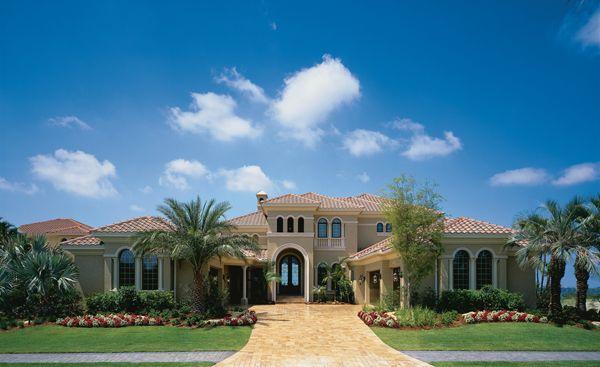 Florida Luxury Custom Home Design Plan Biscayne III 115