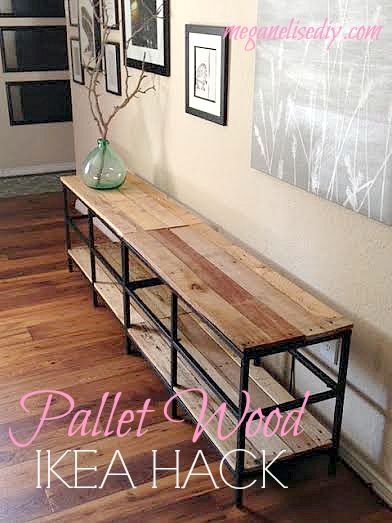 Ikea Hacking How To Make Your Own Pallet Wood