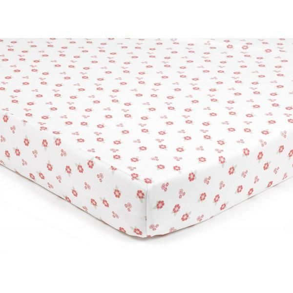 Breathablebaby Super Dry Cot Sheet English Garden