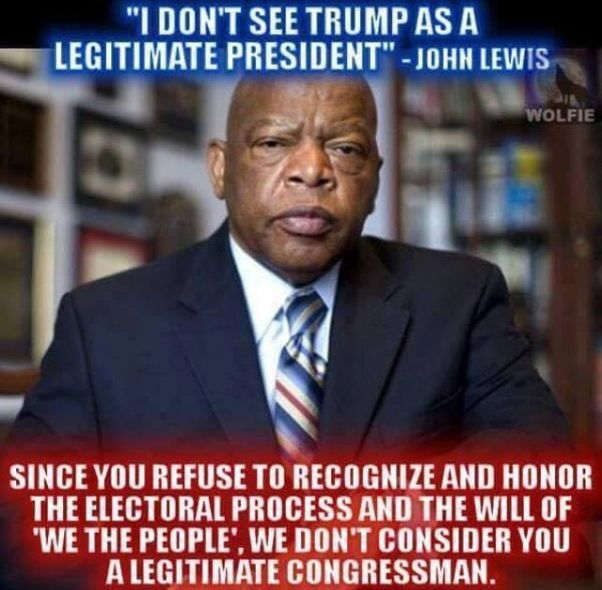 Image result for dumb john lewis quotes