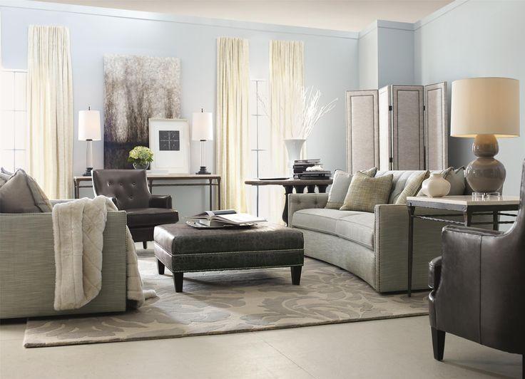 Bernhardt Candace Sofa With Transitional Elegance