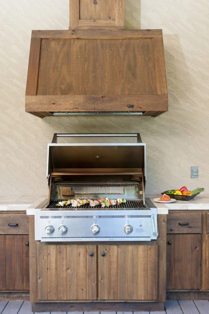 41 best ideas about outdoor kitchen on pinterest vent hood stainless steel grill and diy grill on outdoor kitchen vent hood ideas id=82591