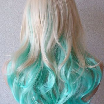 best 25 mint hair ideas on pinterest
