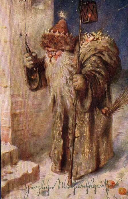 17 Best Images About Vintage Santa Claus On Pinterest