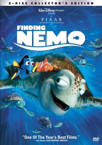 Image of Finding Nemo 3-disc collector's edition.