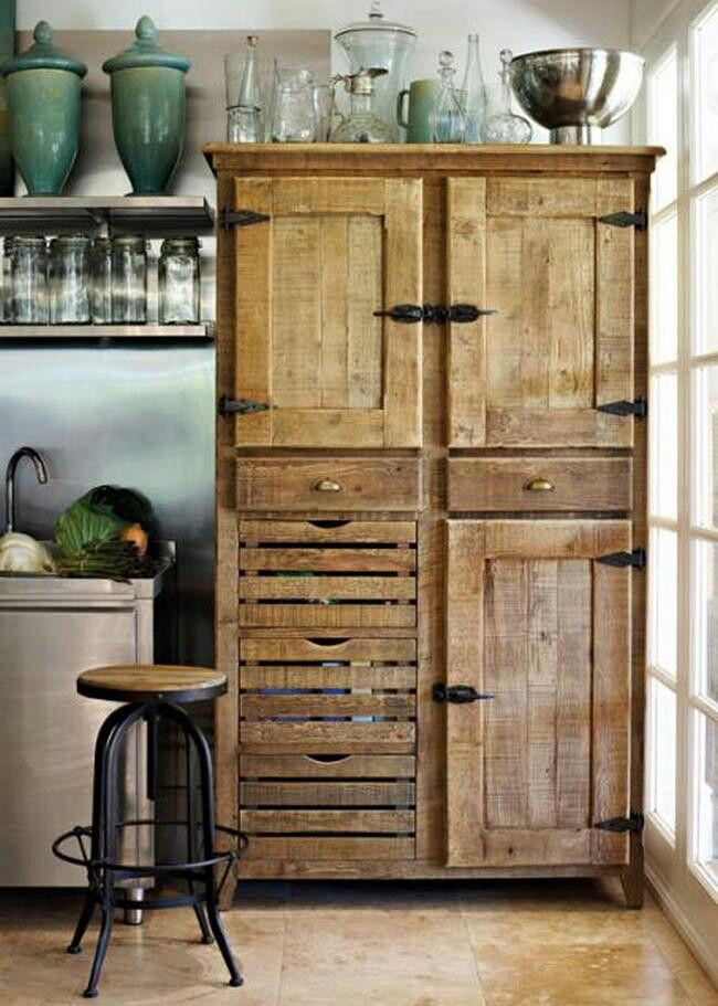 Cabinet Kitchens Cabinets Ideas Pallet House Furniture Rustic Kitchen