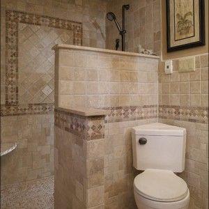 Interesting Walk In Shower Designs No Glass Amp Nice Design