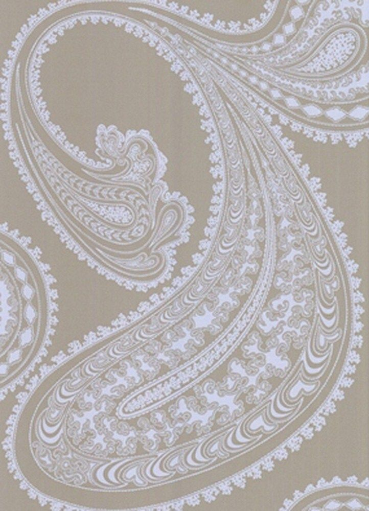 24 Best Images About Paisley Wallpaper On Pinterest