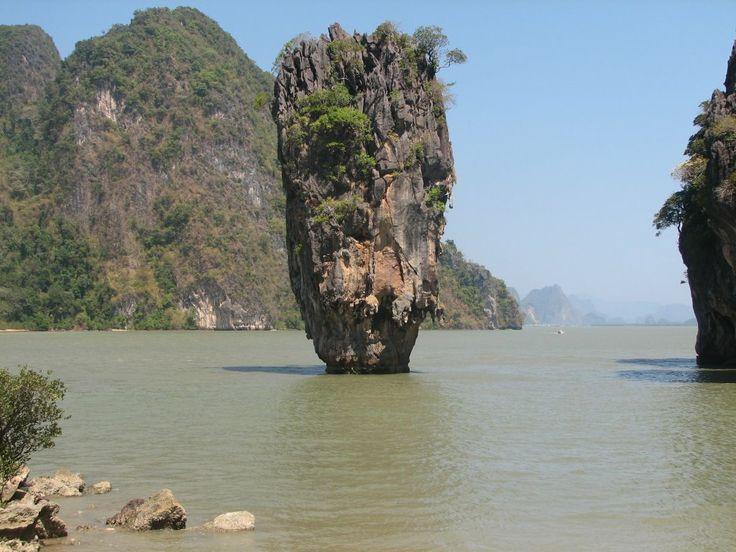 Ko Tapu Khao Phing Kan Thailand Photo World