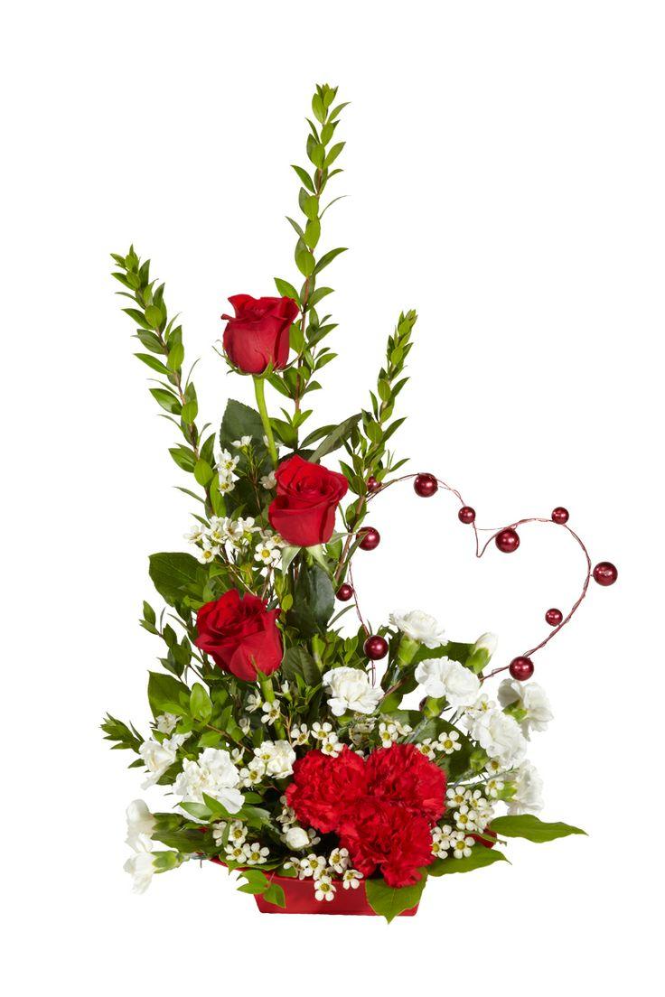 17 Best Images About Valentines Floral Arrangements On