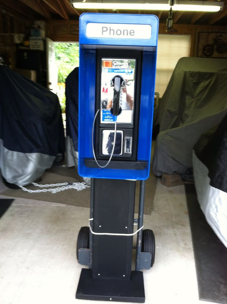 1980s Pay Phone Booth Pay Phone Pinterest Phones And