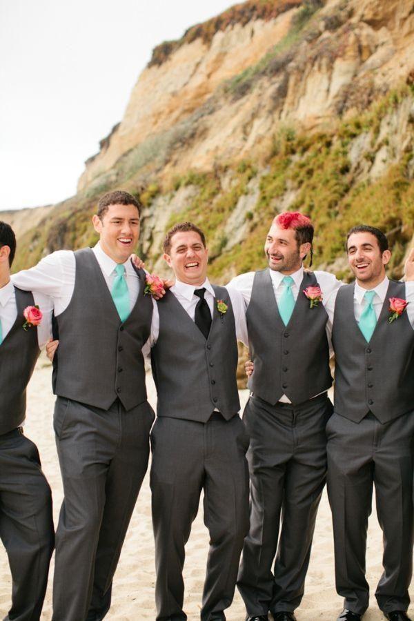 Beach Wedding Waistcoats