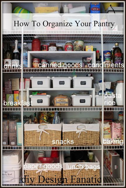 17 best images about my organized pantry on pinterest the smalls shelves and clean mama on organizing kitchen cabinets zones id=27032