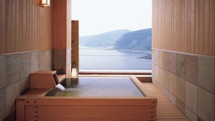 Hinoki Tub W View Akazawa Onsen Bathtub Pinterest